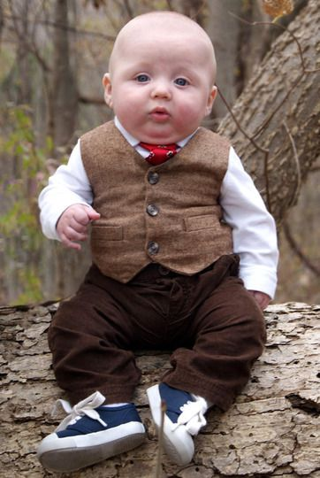 The very best way to dress small boys. (So cute OMG ...