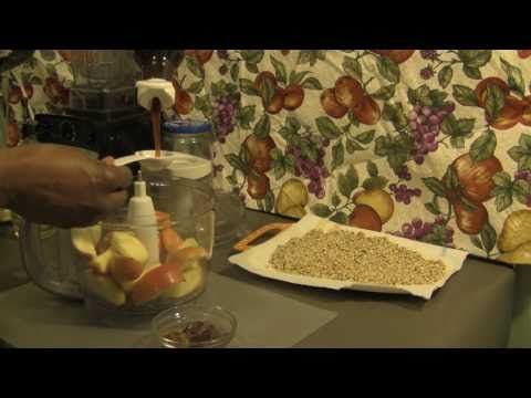 "Raw Cereal ""Macada-APPLE"" cinnamon  ep#11-03"