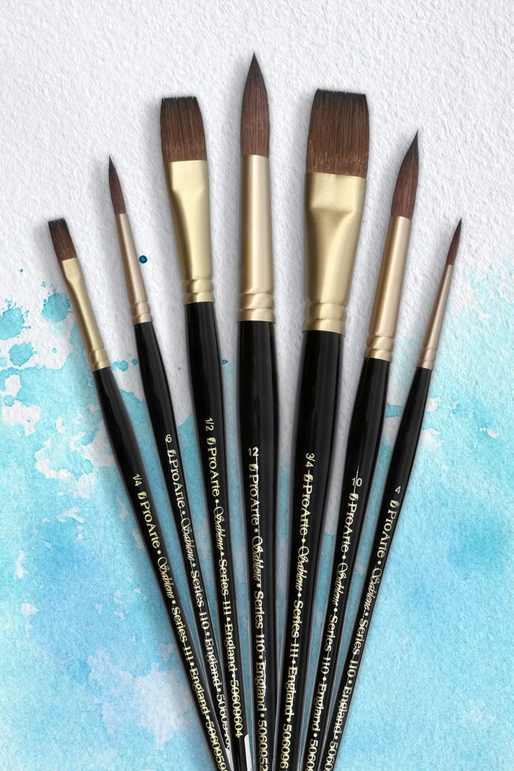 Pro Arte Sablene Brushes are the perfect brush for any