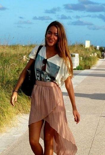 Miami Beach Fashion Style Outfit Look Urban Outers En Camisetas Forever21 Faldas Zara Bolsos