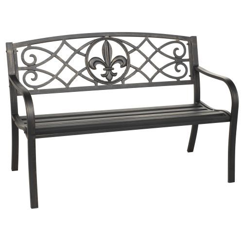 Academy Mosaic Fleur De Lis Park Bench If We Had A Coy