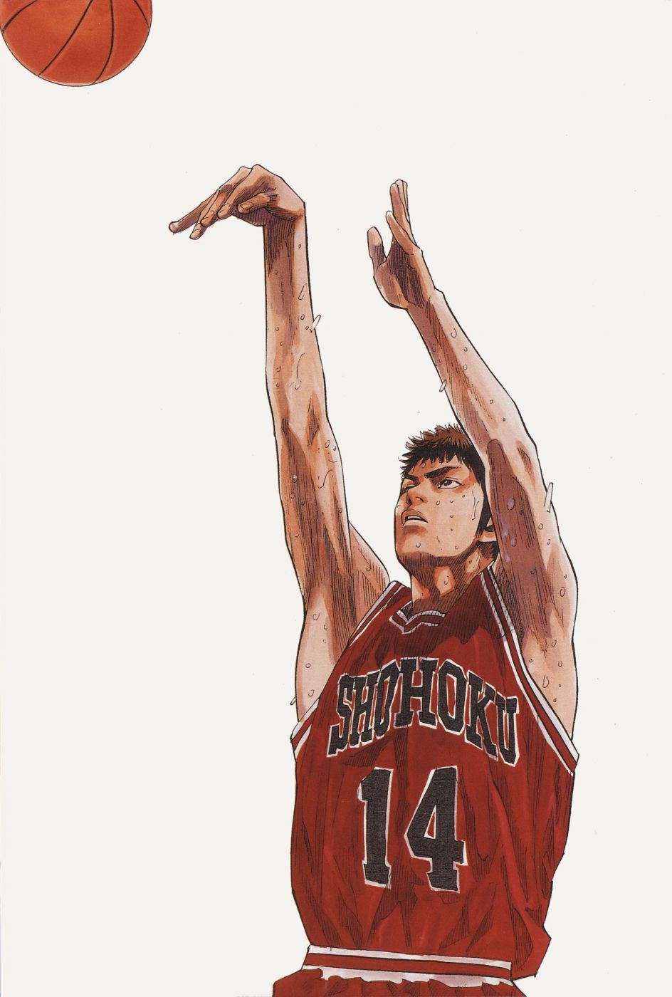 best value f6d33 2ed9f anime sports basketball guy Slam Dunk Series Hisashi Mitsui Character  wallpaper