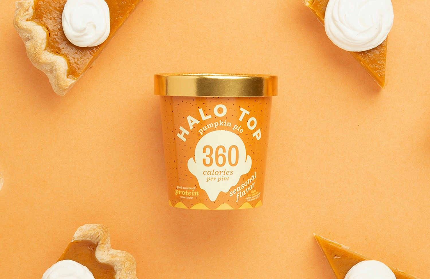 Halo Top To Give Americans A Free Pint Of Pumpkin Ice Cream Pumpkin Pie Ice Cream Pumpkin Ice Cream Pumpkin Pie