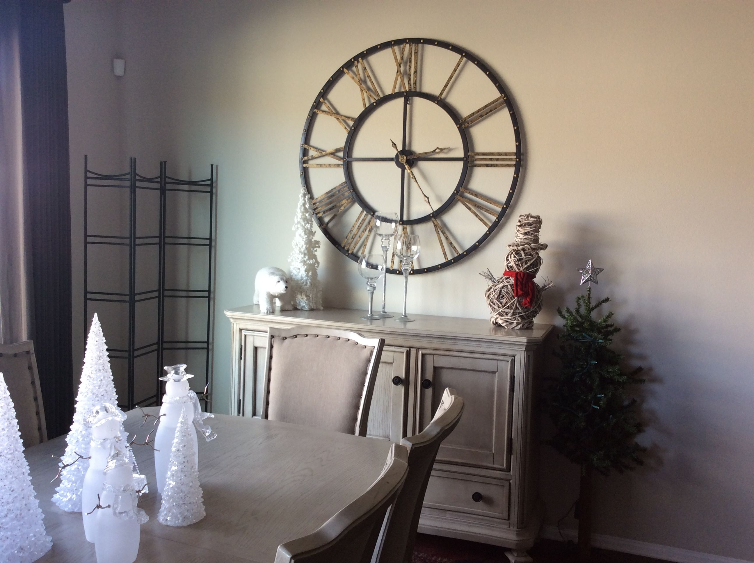 Did The Large Clock From Kirkland For My Dining Room I Love It
