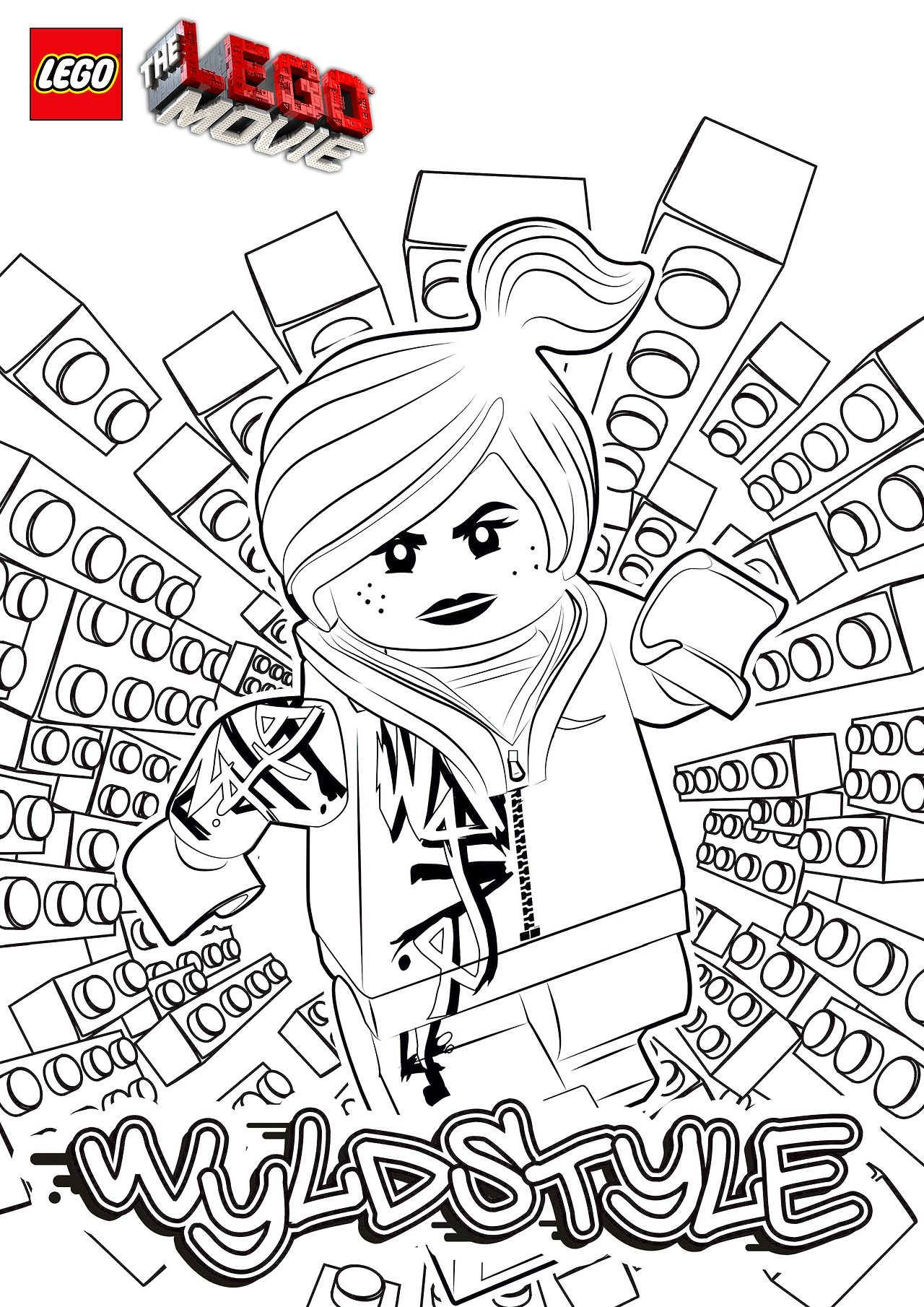 Printable Lego Movie Coloring Pages