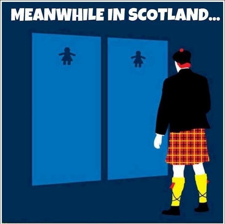 Hahahaa! Scotland