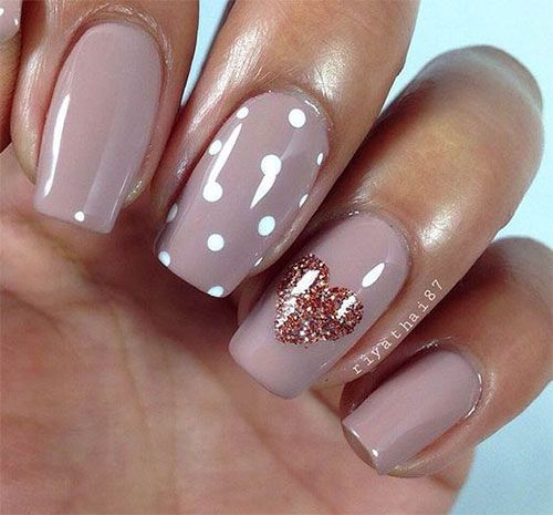 Valentine's Day Heart Nail Art - Valentine's Day Heart Nail Art Valentine's Day Heart Nail Art