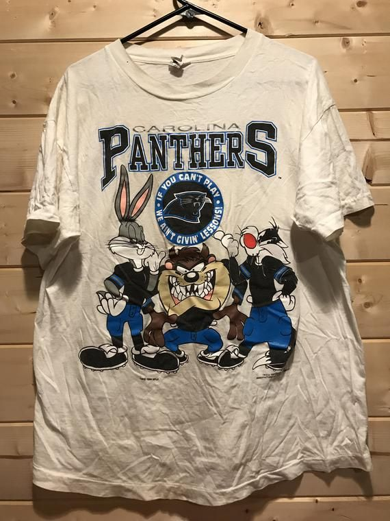a4c95b85 Vintage 1994 Carolina Panthers Looney Tunes T-Shirt in 2019 ...