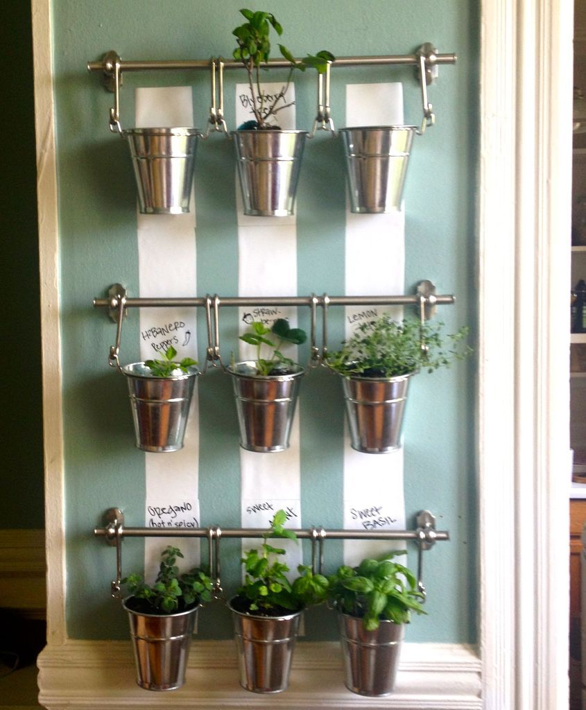 Wall Planters Ikea Indoor Herbal Garden Google Search Gardens Pinterest