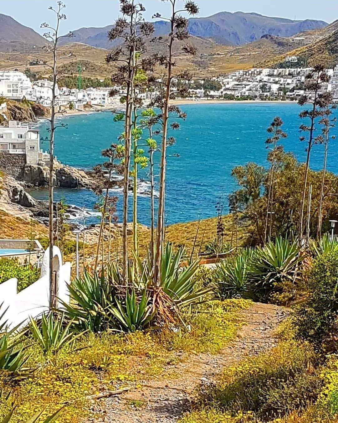 480 Me Gusta 8 Comentarios Almería Embrujada Almeriaembrujada En Instagram Sendero Hasta El Mar San José Parque Natural Cabo De Gata Foto Brigittede