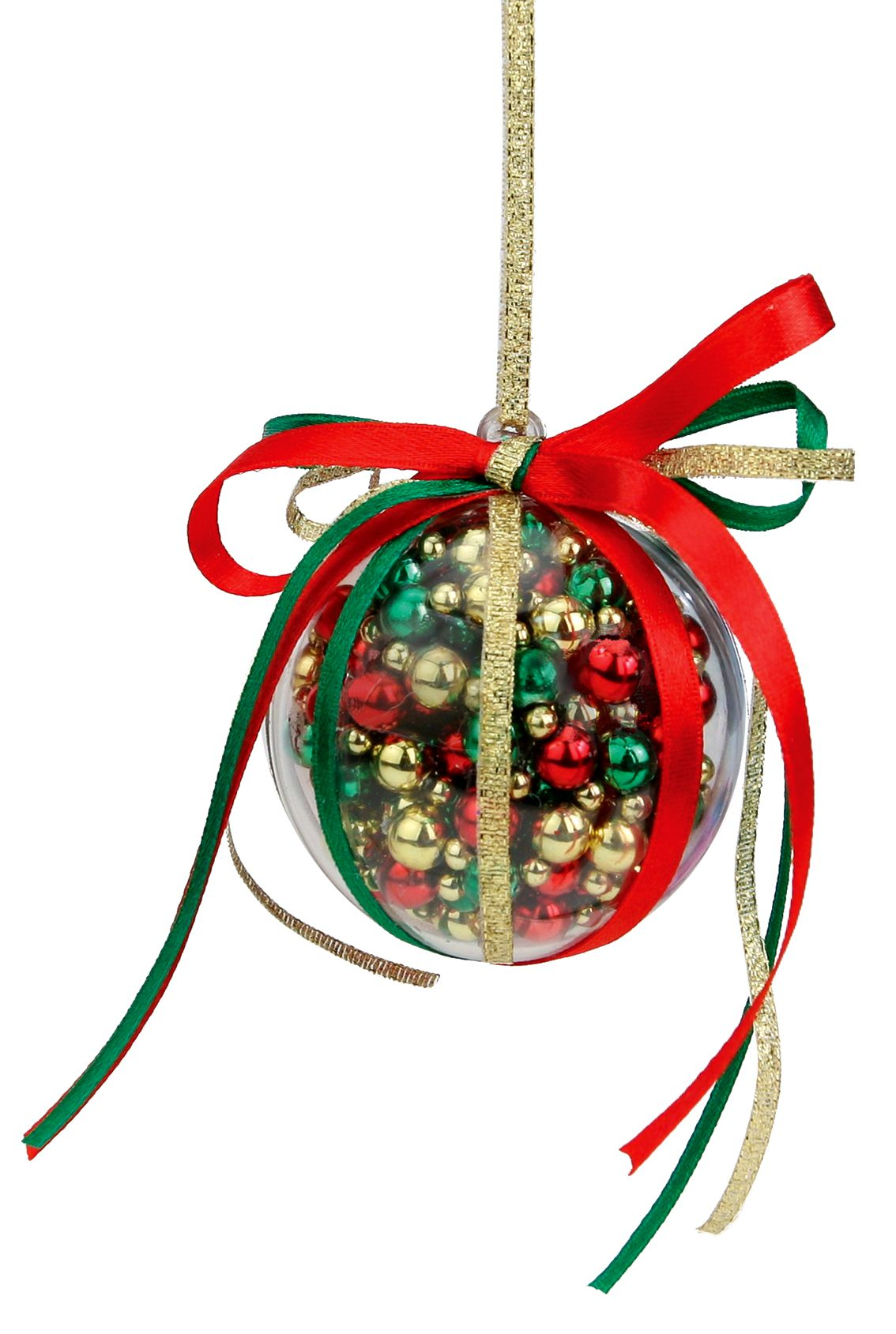 Nicole Crafts Red Green And Gold Bubble Ornament Ornaments Craft Christmas Gold Christmas Decorations Christmas Ornaments To Make Christmas Ornaments