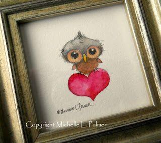 Michelle Palmer: owls