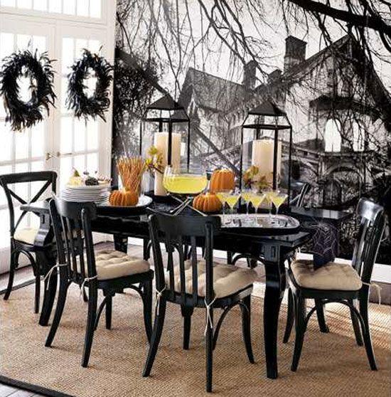 halloween decorating ideas pinterest Ideas para decorar en - pinterest halloween decor ideas