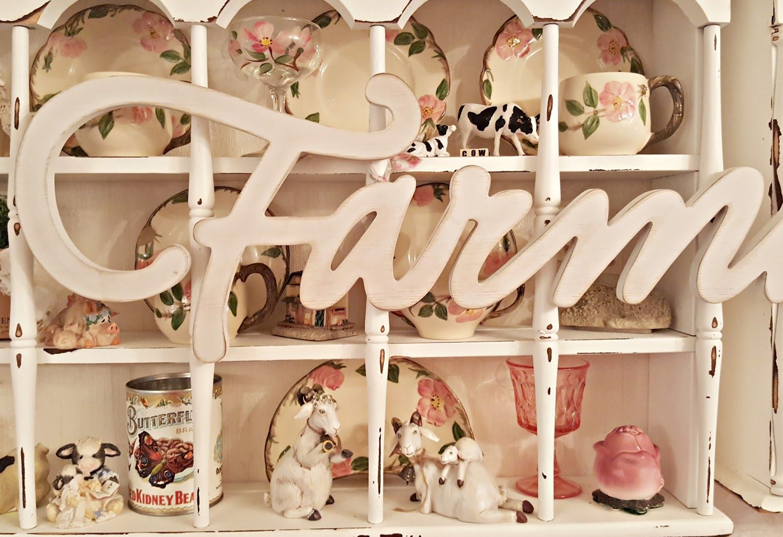 When I saw this Farmhouse sign at Hobby Lobby the other