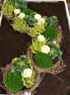 Grabbepflanzung | Grabgestaltung | Pinterest Grabgestaltung Ideen Blumen Pflanzen Deko