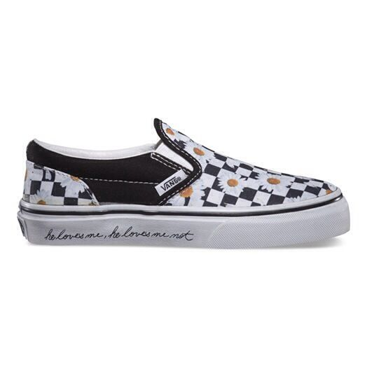 9c9acd875 checkered daisy vans - Google Search | Wedding | Vans kids, Slip on ...