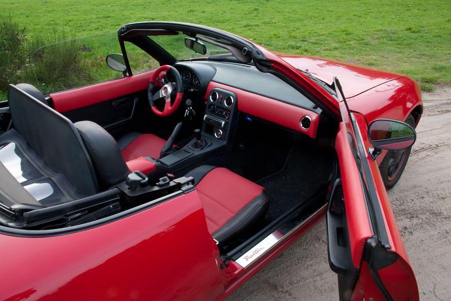 MX-5 Owners NL • Toon onderwerp - Mauske's Mazda MX-5 NA '91