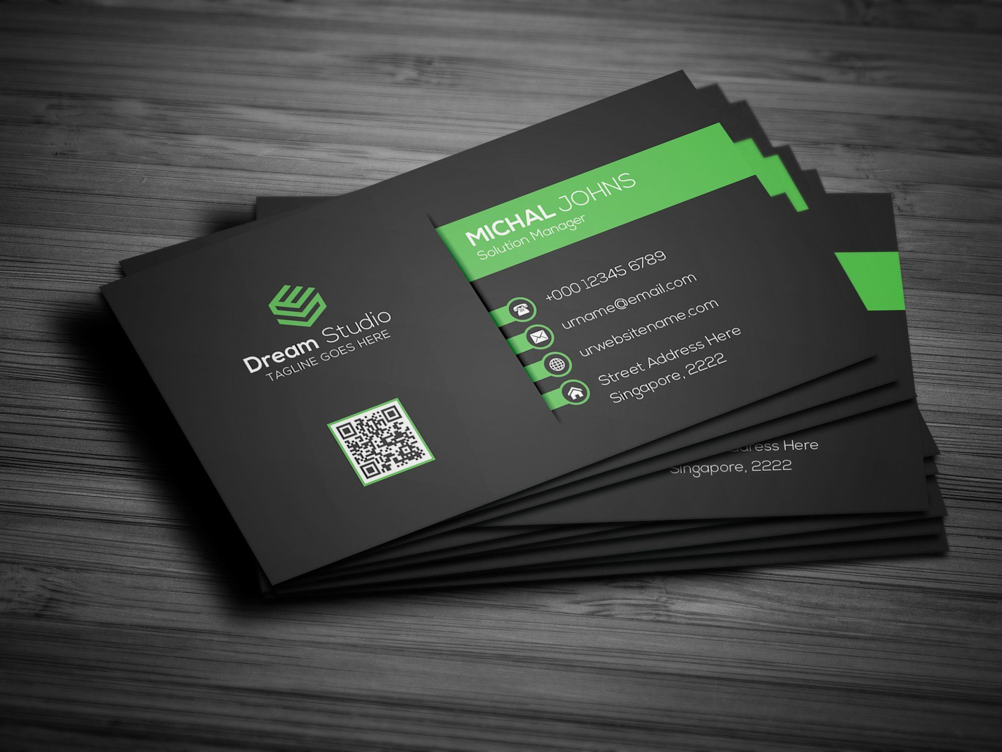 Creative Modern Business Card With Images Modern Business