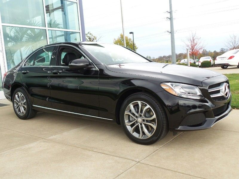 New 2016 Mercedes Benz C Class C300 4matic Black For Sale O