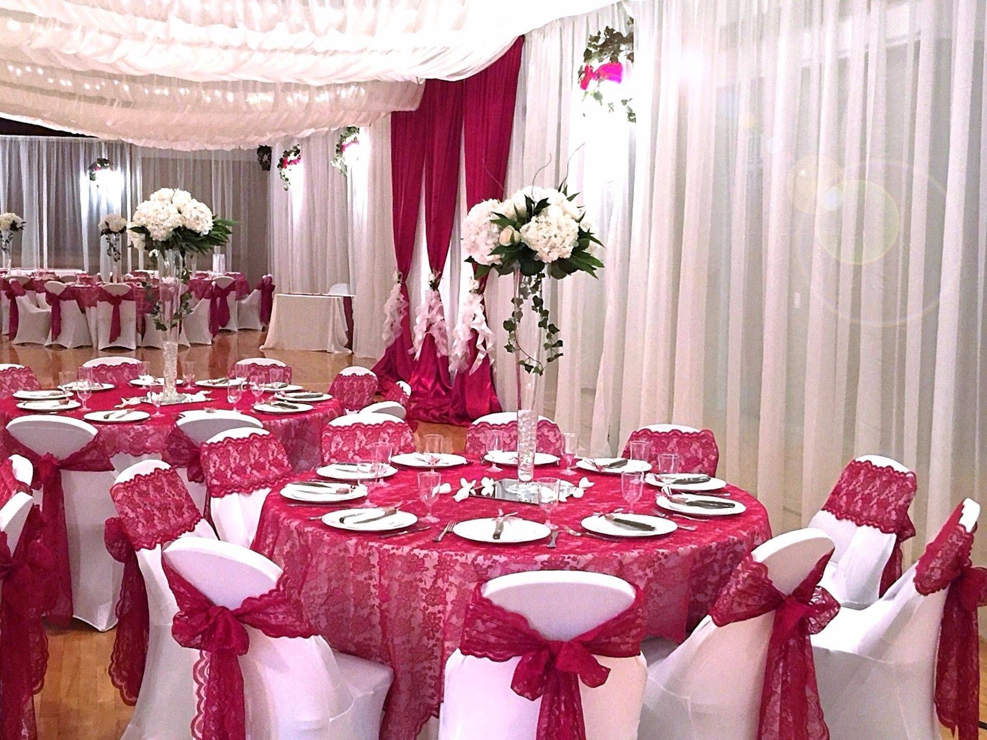 LDS Wedding Reception Decor for Cultural Halls in Arizona   Table ...