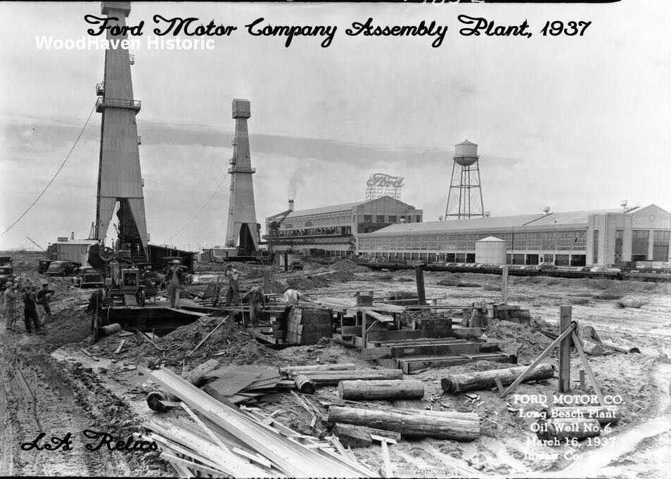 Ford Motor Company Long Beach Assembly Plant Assembly Building