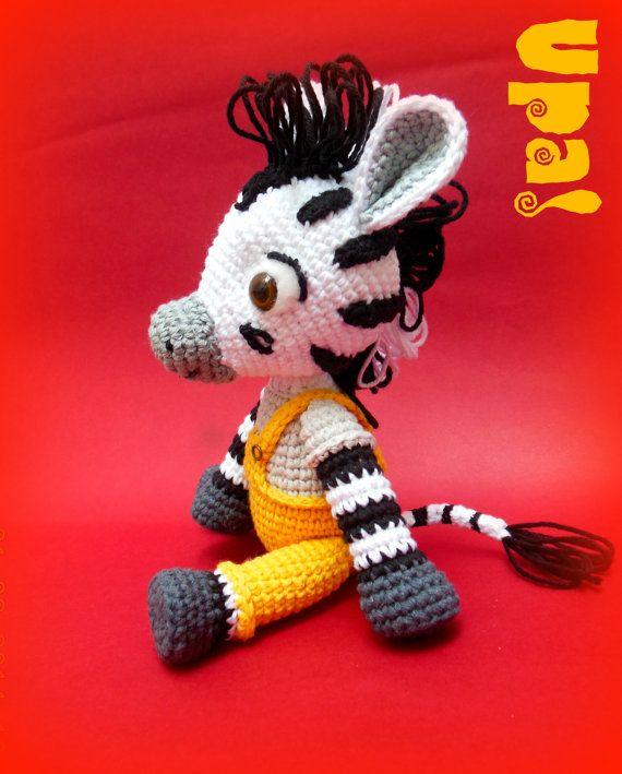 Zou, The Little Zebra Amigurumi | hackovane a pletene hracky ...
