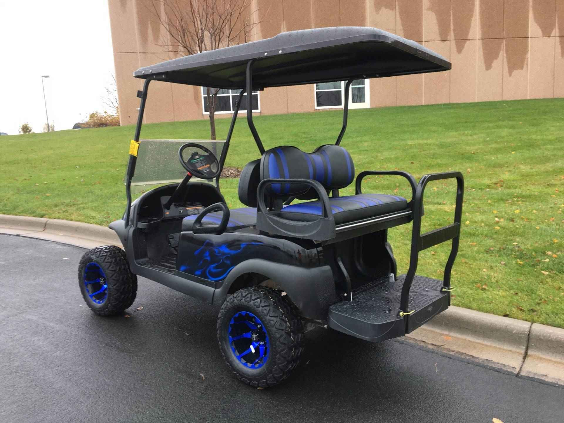 Used 2012 Club Car Precedent Atvs For Sale In Minnesota 2012 Club Car Precedent 2012 Blue Ghost Flame Club Golf Carts Club Car Golf Cart Golf Carts For Sale