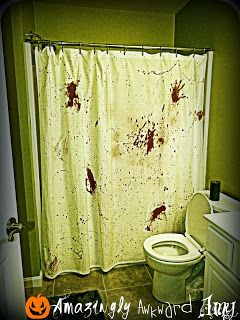 5 Spooky Shower Curtains For Halloween Halloween Shower Curtain