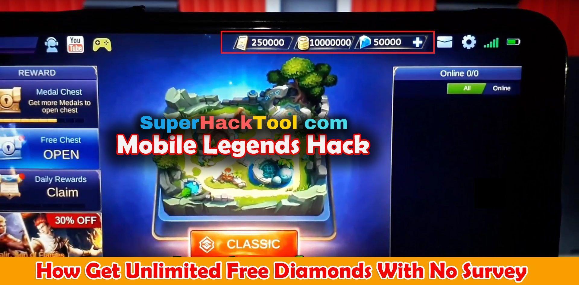 Mobile Legends Hack Free Diamonds LIVE PROOF Mobile