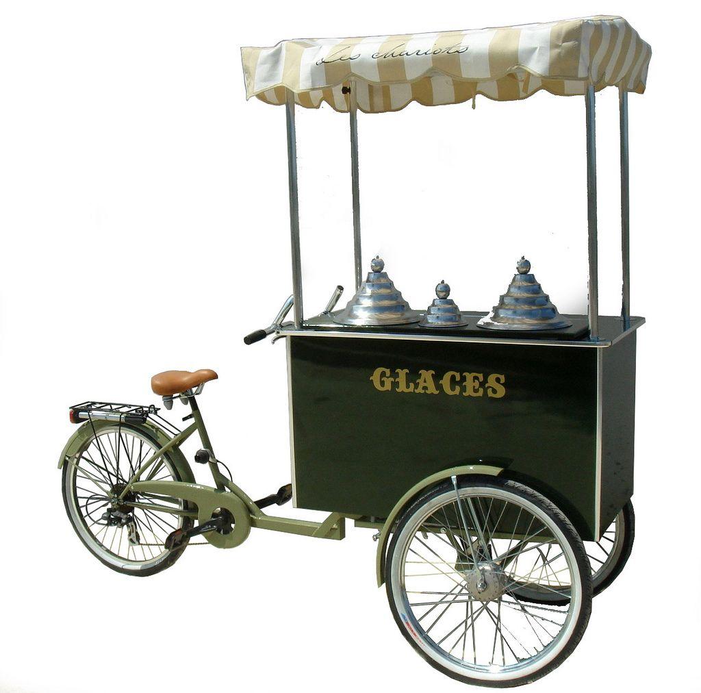 carrettino gelati chariot glaces charrette. Black Bedroom Furniture Sets. Home Design Ideas