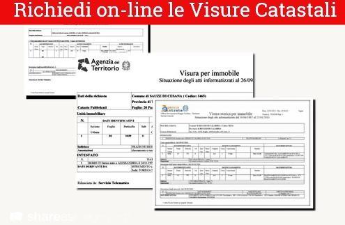 Visura Catastale Online   Visure On Line