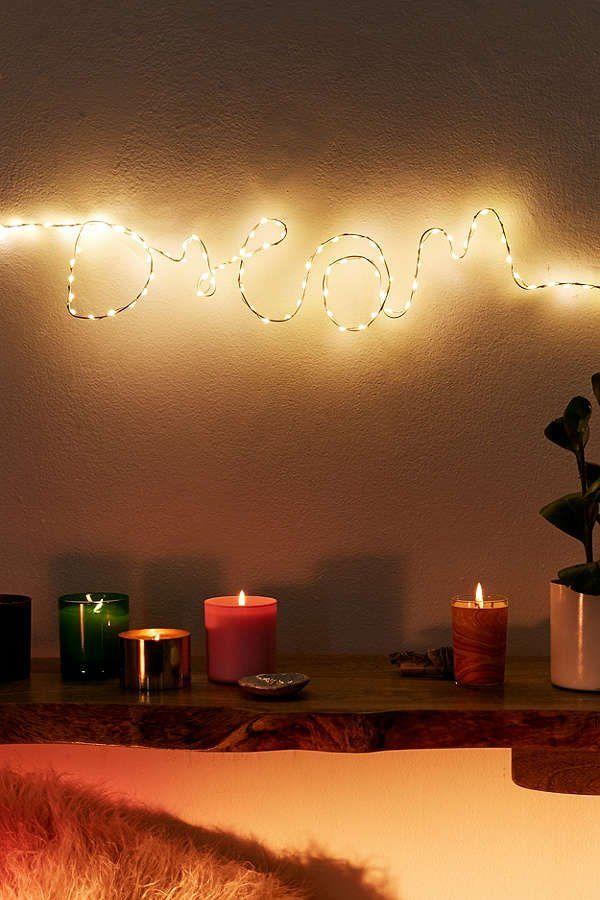 Make Your Own Fairy Light Sign Kit   Fairy lights ...