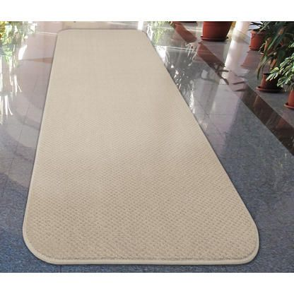 House Home And More Skid Resistant Carpet Runner Ivory Cream 24 Ft X 27 In 3 Carpet Runner Carpet Decor