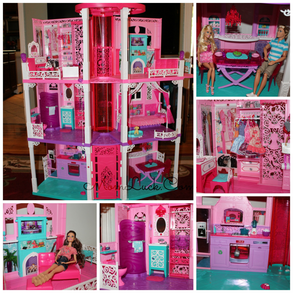 The New Barbie Dreamhouse Review From Mattel This Is A A Great Idea For A Christmas Gift For