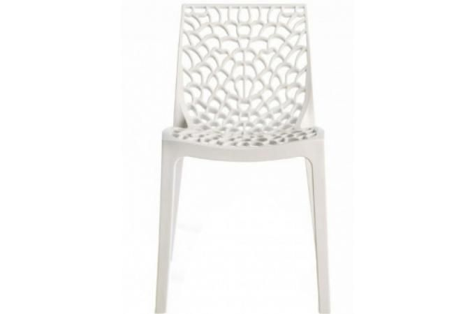 Chaise design blanche GRUYER OPAQUE 5 5 3 avis