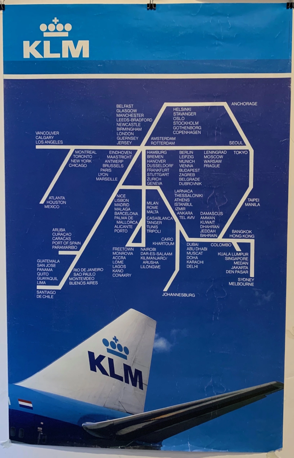 Klm Airlines Travel Airplane Locations Poster Museum Airline Travel Klm Airlines Zagreb