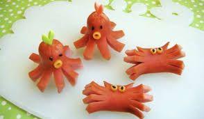 Resultado de imagen para brochetas y platos para niños con frutas divertidas