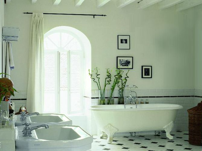 Salle de bain ambiance thermale / Bathroom Spa inspired    www