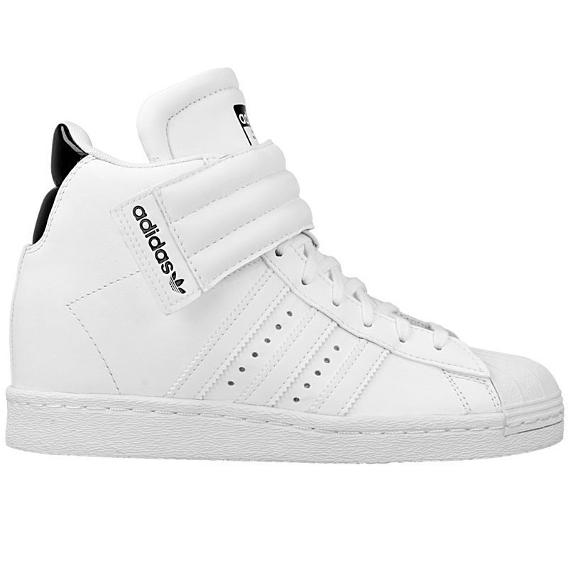 38501875e66b Adidas Superstar Up Strap W Women s Shoe Sneaker Wedge White Wedge heel NEW   adidas  HighTopSneakerstrainers