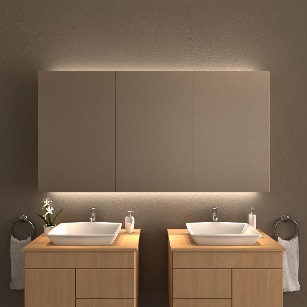 Spiegelschrank Mit Beleuchtung Fur Waschtisch Und Decke Badezimmer Spiegelschrank Mit Beleuchtung Spiegelschrank Beleuchtung Und Spiegelschrank