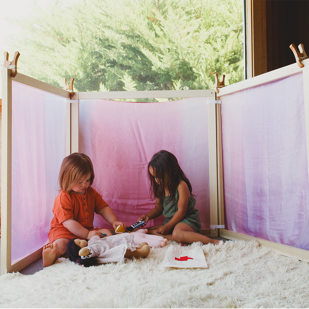 Fort Kit, Build A Fort, Waldorf Playroom