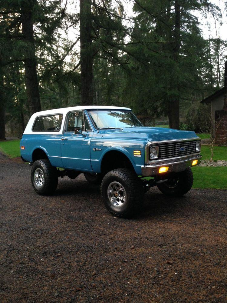 1972 Chevrolet Blazer Chevrolet Blazer Chevy Trucks 72 Chevy Truck
