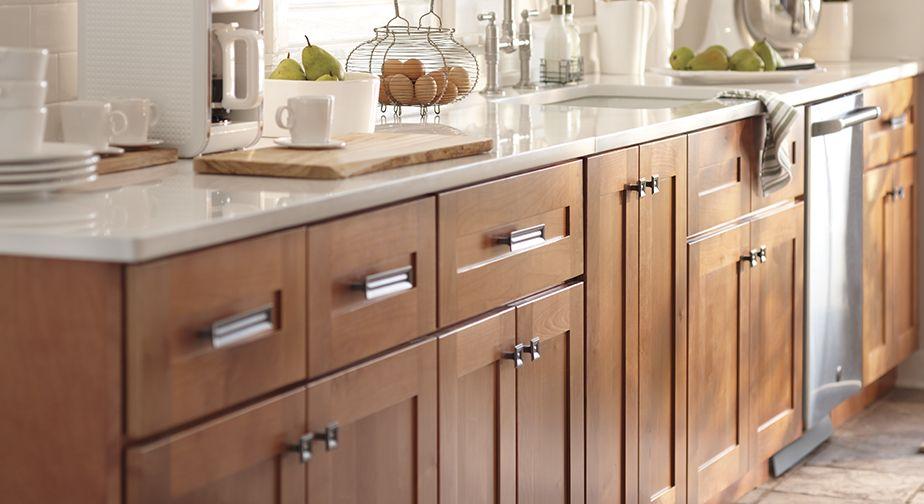 Best Hardgrove Cinnamon Cabinets Home Depot Warm Light 400 x 300