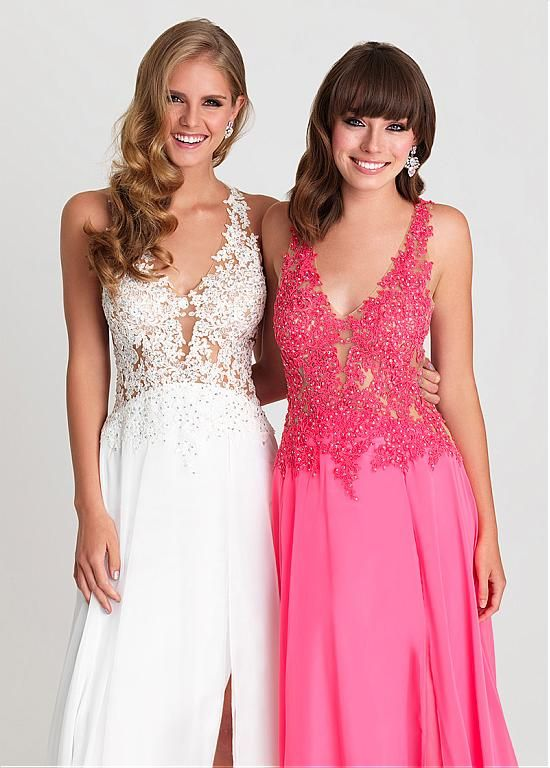 Buy discount Marvelous Chiffon V-neck Neckline A-Line Prom Dresses ...