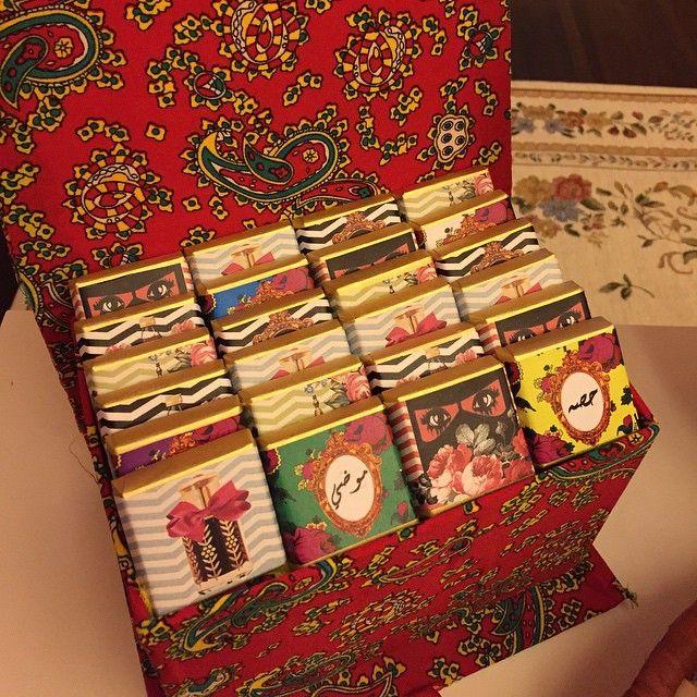 صندوق روز مكون من ٢٤ قطعه شوكلاته Ramadan Decorations Ramadan Gifts