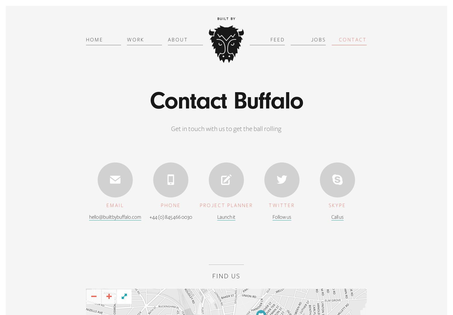 Really Love WwwBuiltbybuffaloCom Website Especially The Contact