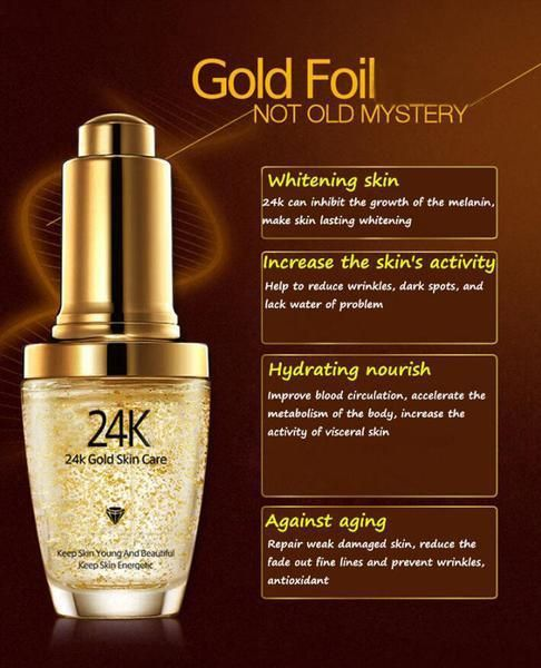 24k Gold Anti Wrinkle Moisturizer Essence Anti Wrinkle Moisturizer Moisturizer Cream Improve Dry Skin