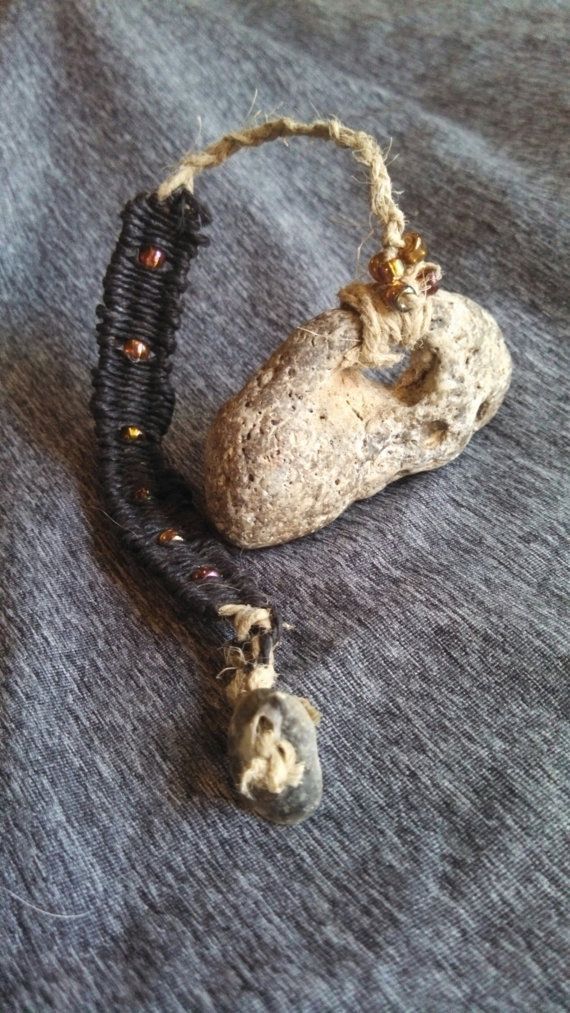 Adder Stone with Witch's Ladder | Witch Cottage | Witch
