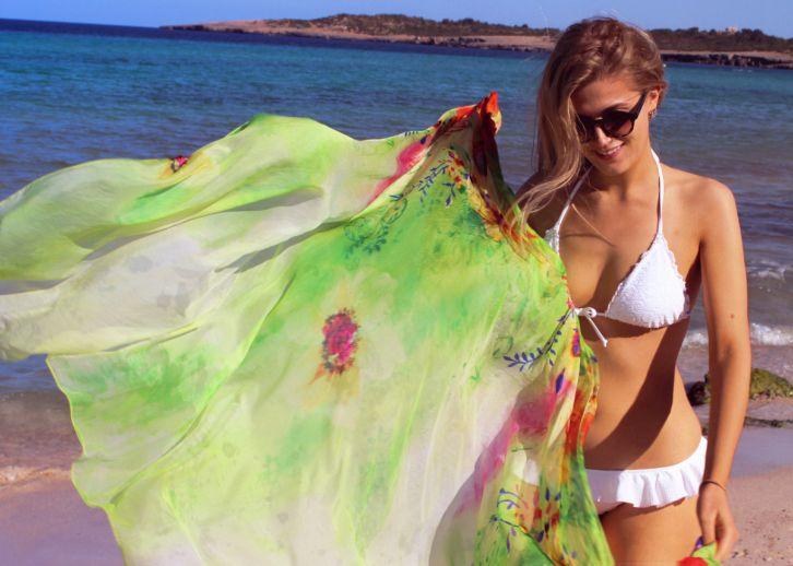 weißer bikini Strand