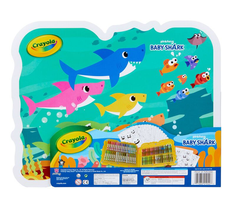 Baby Shark Art Set, Art Gift for Kids   Crayola.com ...